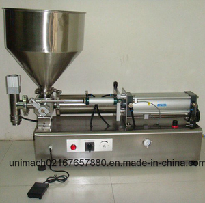 Horizontal Pneumatic Ointment Filling Machine