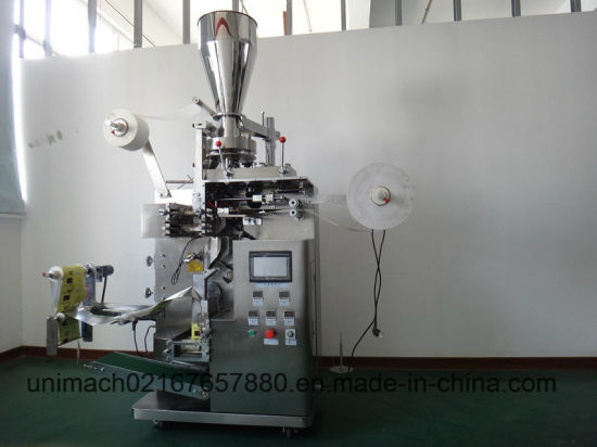 Automatic Tea Bag Inner and Outer Bag Packing Machine