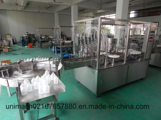 High Speed Filling Capping Machine with Stopper