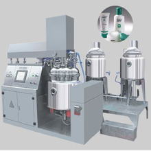 Vacuum Ointment Emulsifier Mixer Machine