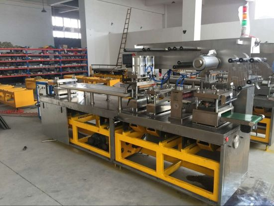 High-Speed Alu-Alu Plastic Blister Packing Machine