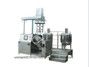 Vacuum Emulsifying Mixer for Pharmaceutical, Cosmetic, and Chemical