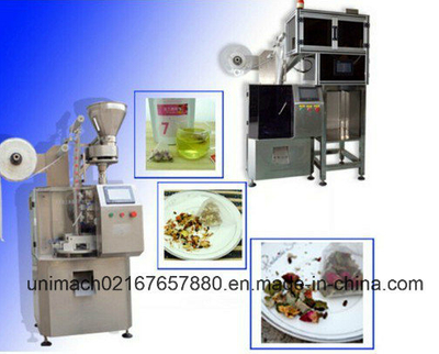 Automatic Triangle Pyramid Nylon Tea Bag Packaging Machinery