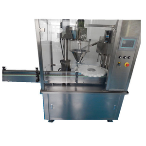6 Heads Automatic Powder Bottle Filler Capper