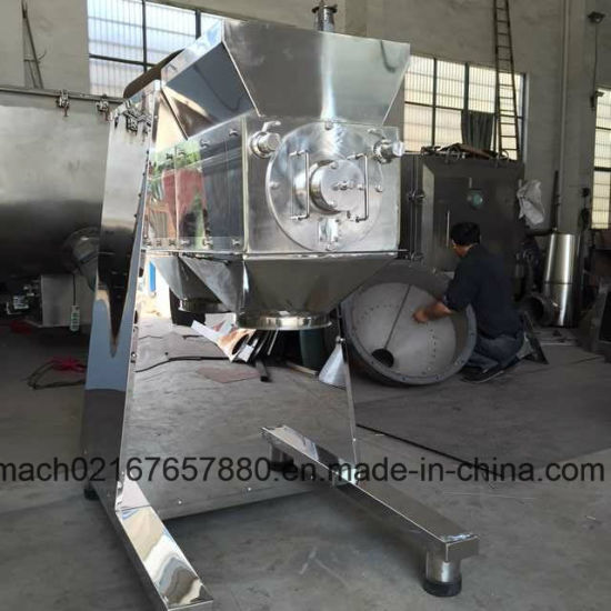 Yk-160 Oscillating Effervescent Fluidized Bed Rotary Wet Granulator
