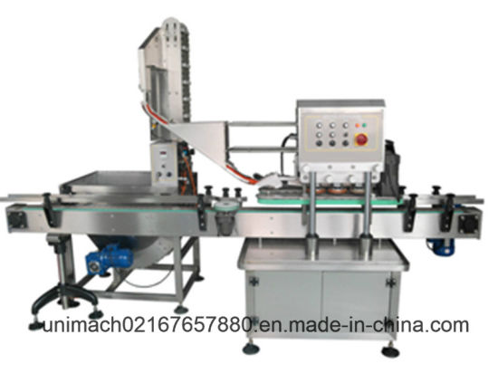 High Speed Capping Machine with Cap Elevator (GX200)
