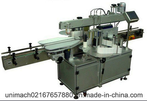 Automatic Adhesive Front and Back Labeling Machine