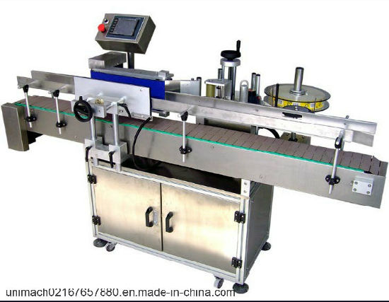 Vertical Round Bottle Labeling Machine