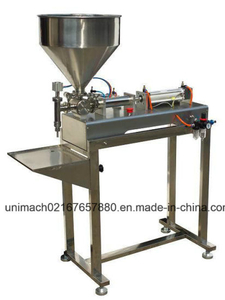 Pneumatic Ointment Cream Filling Machine