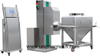 Pharmaceutical Machinery Single-Column Lifting Hopper Type Mixer