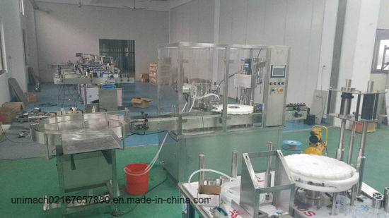 Hb100-200ml High Efficiency Filling and Stoppering Machine