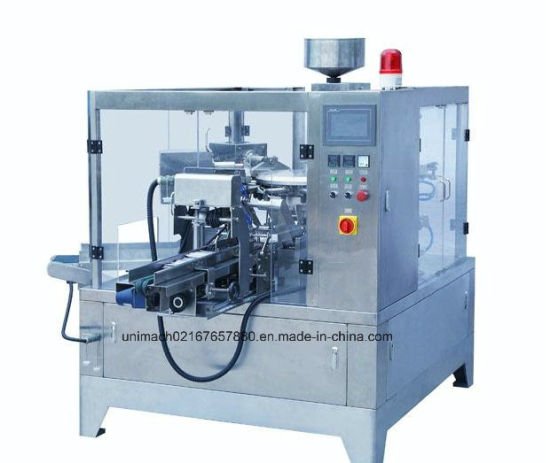 Granule Doypack Premade Rotary Packing Machine