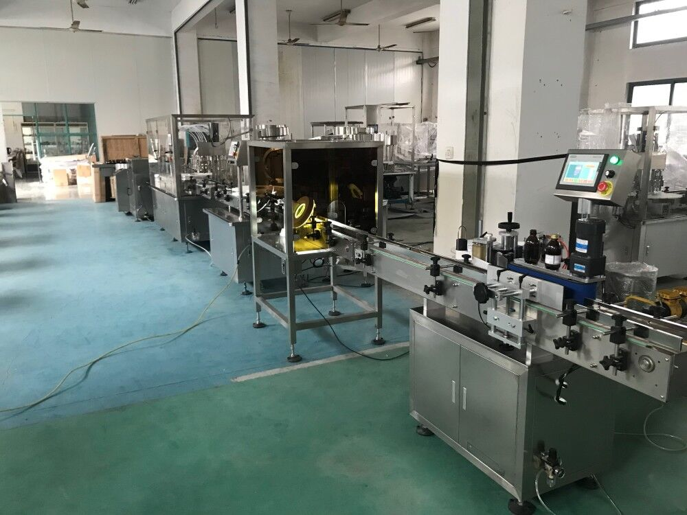 Automatic Oral Liquid Syrup Filling Capping Machine